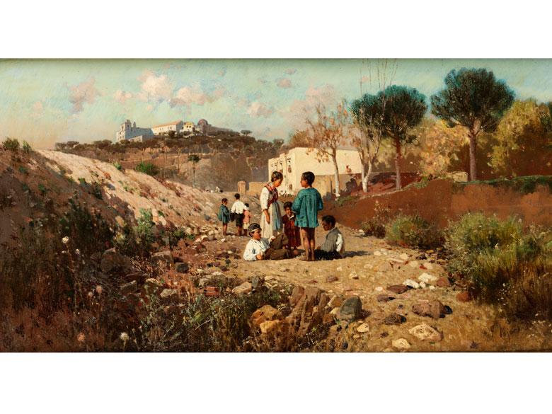 Francesco Lojacono, 1841 Palermo - 1915