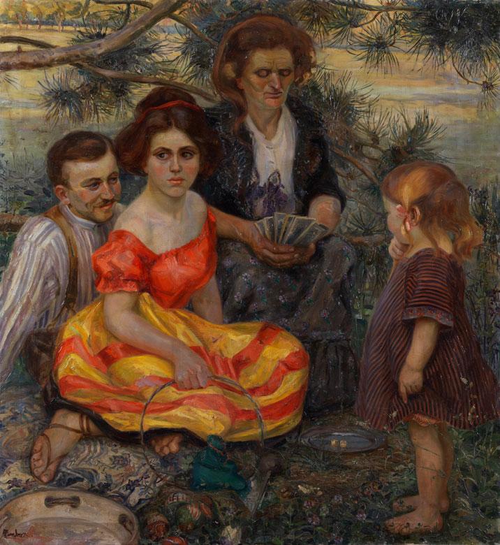 A. Zamboni, Italienischer Künstler des 19./ 20. Jahrhunderts