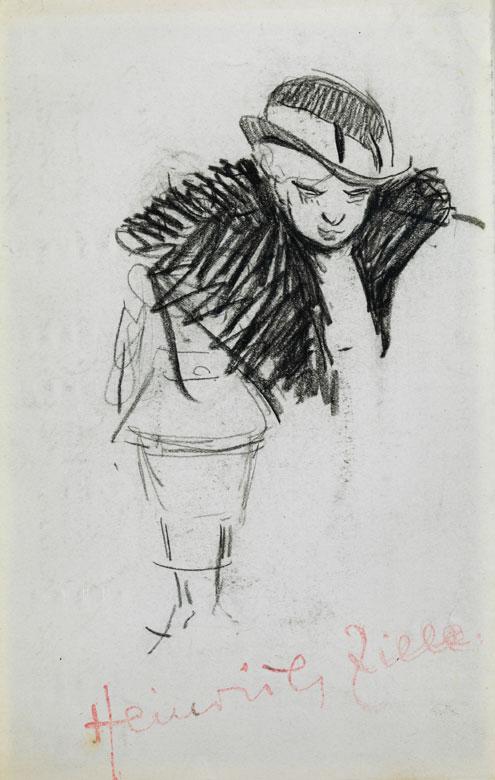 Heinrich Zille, 1858 Radeburg - 1929 Berlin