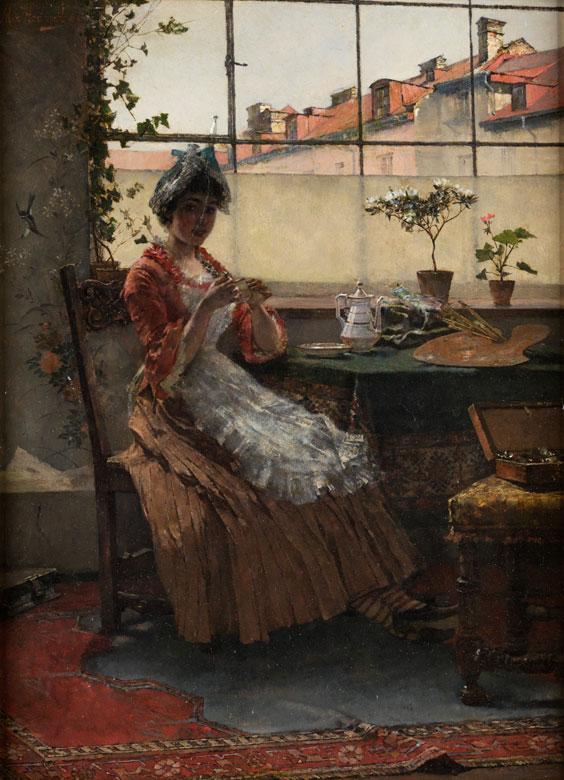 Max Hammerl, 1856 - 1886