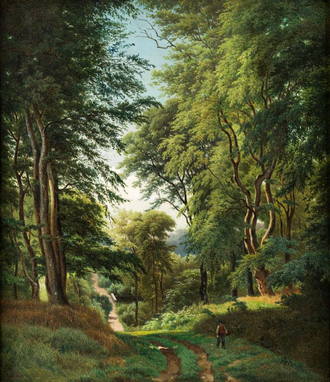 Anders Christian Lunde, 1809 Kopenhagen - 1886 ebenda