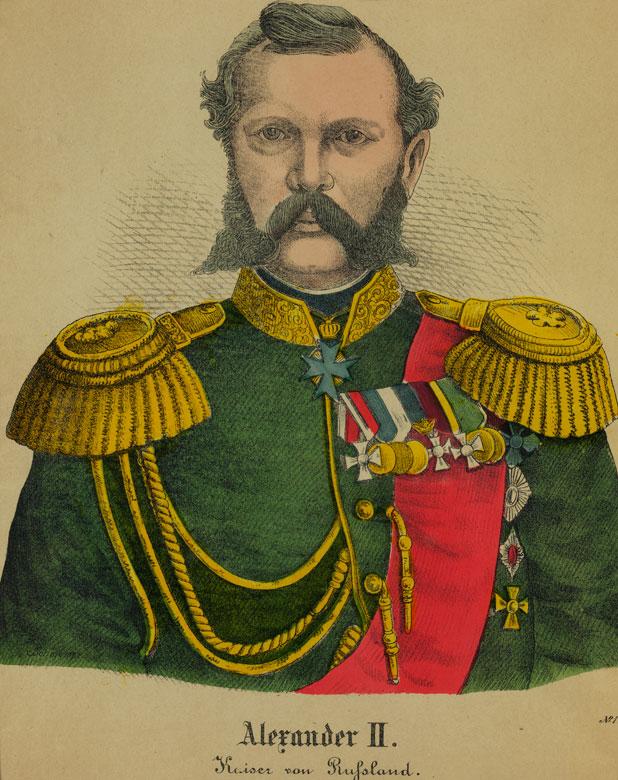 Zar Alexander II.