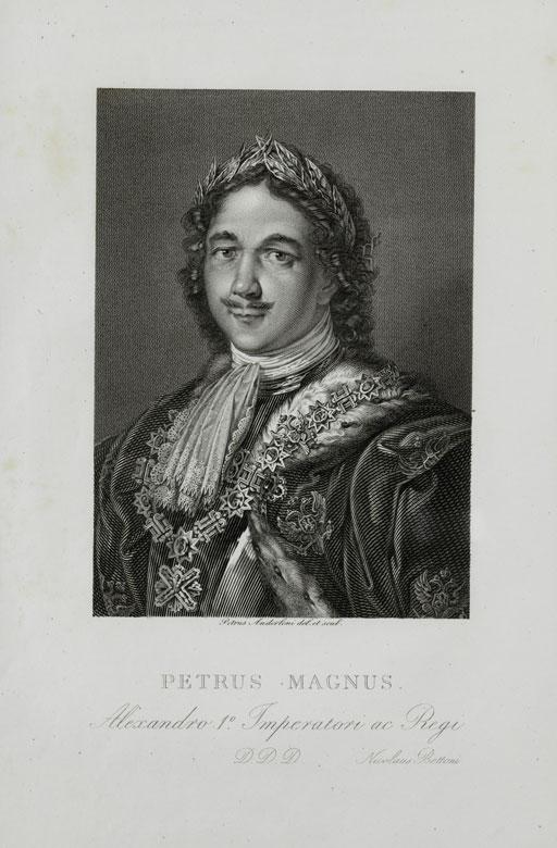 Porträt Peter der Große