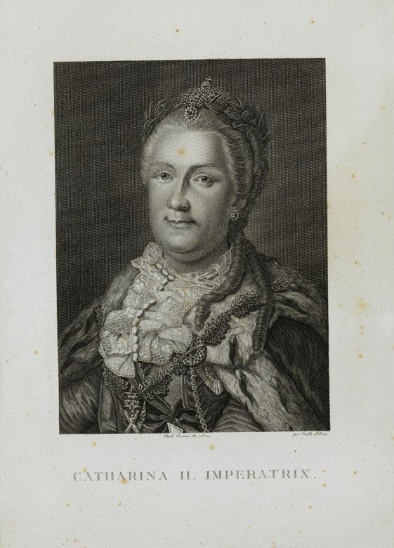 Porträt Katharina die Große
