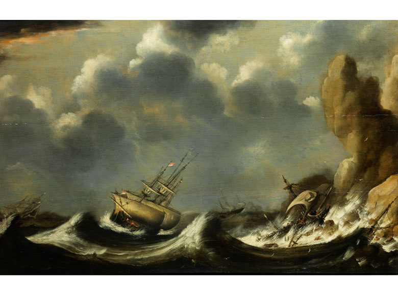 Ludolf I. Backhuysen, 1630 Emden - 1708 Amsterdam, in der Art des