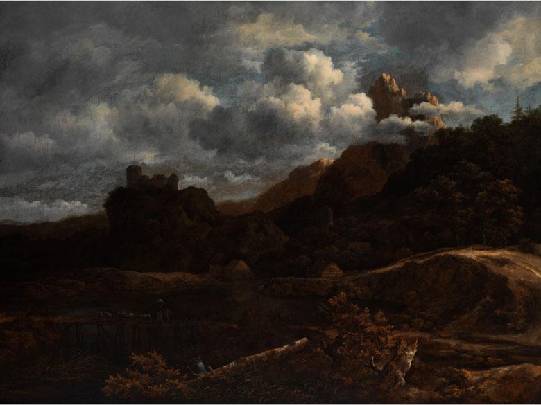 Jacob van Ruisdael, 1628 Haarlem - 1682