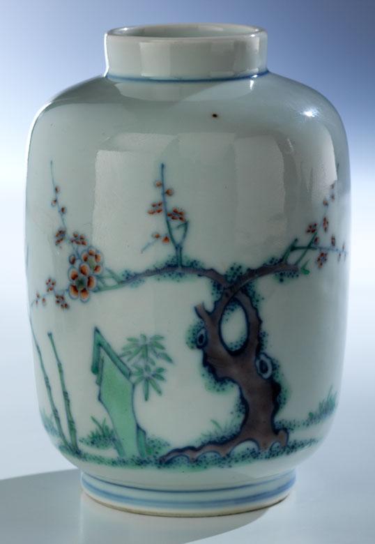 Feine und sehr seltene Doucai-Vase