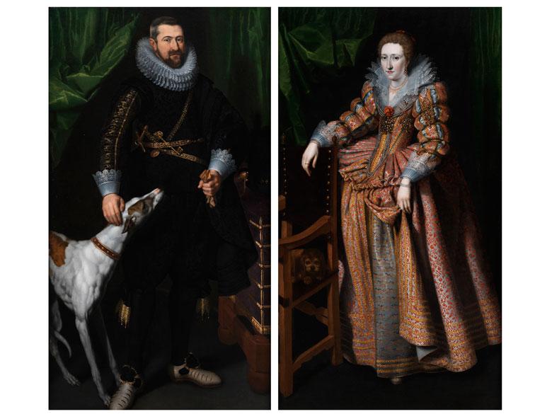 † Flämischer Porträtist um 1610