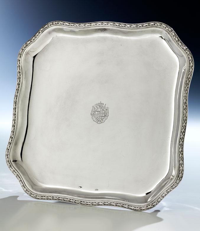 Fürstbischöfliches Silberplateau
