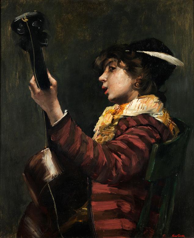 Norbert Goeneutte, 1854 Paris - 1894 Auvers-sur-Oise