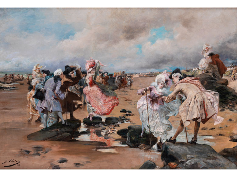 Georges-Jules-Victor Clairin, 1843 Paris - 1919 Clohars-Carnoët