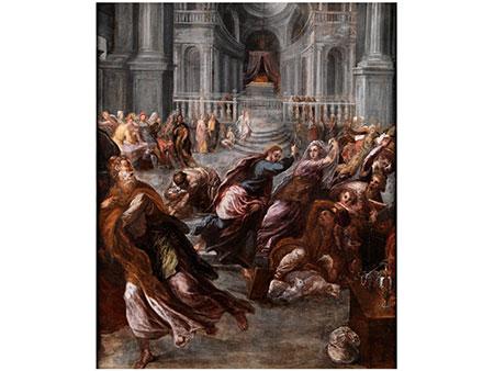 """Domenikos Theotokopoulos, genannt """"El Greco"""", 1541 Candia, Kreta - 1614 Toledo, zug."""