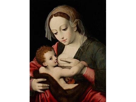 Cornelis van Cleve, 1520 Antwerpen - um 1569, zug.