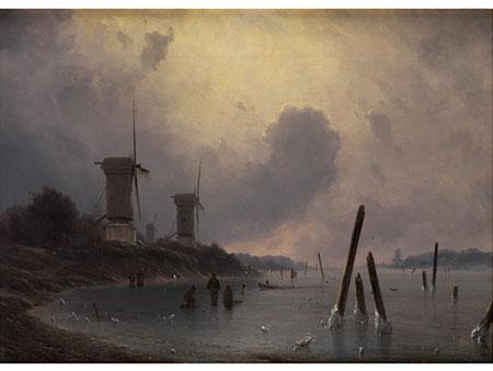 Georg Emil Libert, 1820 Kopenhagen - 1908 Donen