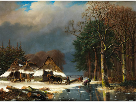 Nicolaas Johannes Roosenboom, 1805 Schellingwouw - 1880 Assen