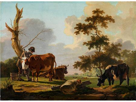 Eugène Verboeckhoven, 1798 Warneton - 1881 Brüssel