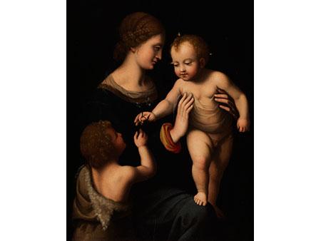 Bernardino Luini,  1481/1482 Dumenza - 1532 Mailand, Umkreis