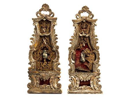 Paar Reliquienkästchen