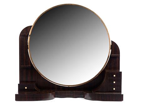 Großer Art déco-Spiegel