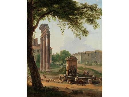 Antonio Sminck Pitloo, 1791 Arnhem - 1837 Neapel, zug.
