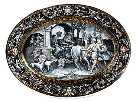 Limoges-Bildplatte