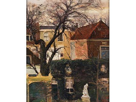 Louis Apol, 1850 Den Haag - 1936 Den Haag