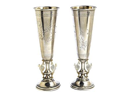 Zwei Silberkelche