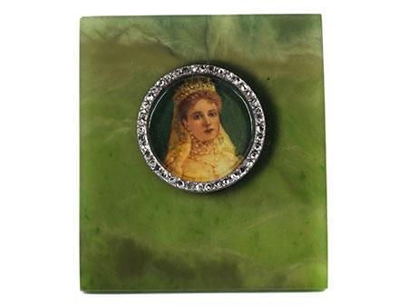 Miniaturportät der Zarin Alexandra Fjodorowna, 1872 Darmstadt - 1918 Jekaterinburg
