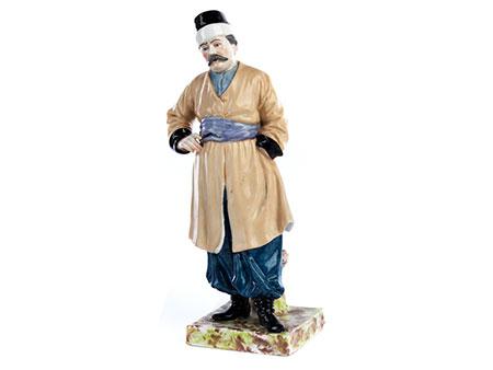 Porzellanfigur eines georgischen Mannes