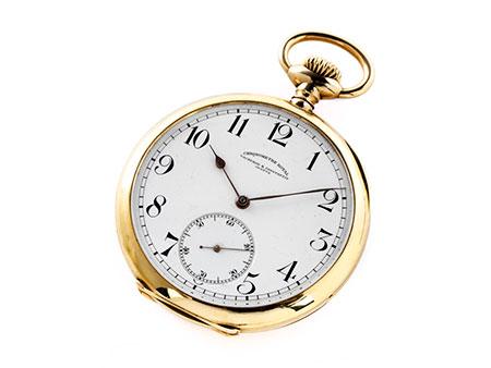 Goldene Taschenuhr von Vacheron Constantin
