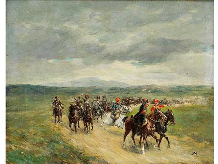 Ernest Meissonier, 1815 Lyon - 1891 Paris