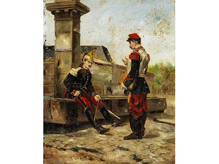 Ernest Meissonier, 1815 Lyon - 1891 Paris, zug.
