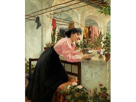 Louis Uhl, 1860 Wien - 1909 ebenda