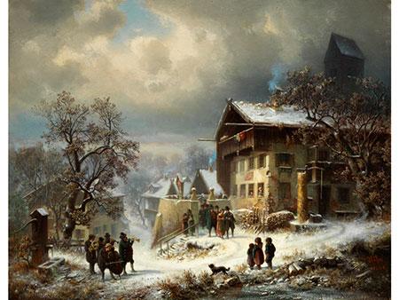 Heinrich Höfer, 1825 Eisfeld - 1878 München
