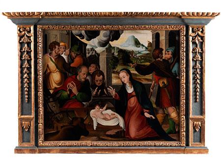 Jan Provost,  um 1465 Bergen/ Wallonien - 1529 Brügge, Kreis des
