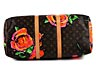 """Detail images: Louis Vuitton Reisetasche """"Keepall Roses"""" 55 cm by Stephen Sprouse"""