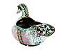 Detail images: Cloisonné-Ente als Kovsch