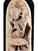 Detail images:  Indische Steinfigur einer Tempeltänzerin