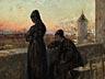 Detail images: Abram Efimovich Arkhipov, 1862 Rjasan - 1930 Moskau