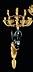 Detail images: † Paar figürliche Wandappliken im Empire-Stil