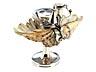 Detail images:  Englisches Schreibzeug in Silber mit eingearbeiteter großer Muschel