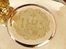 Detail images:  Französischer Messkelch mit Patene