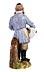 Detail images: Russische Porzellanfigur eines alten Juden