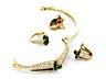 Detail images:  Brillant-Smaragdset von Piaget