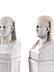 Detail images: Paar neoklassizistische Hermen im ägyptischen Stil