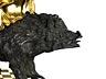 Detail images: Seltene Carillon mit Wildschwein