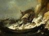 Detailabbildung: Ludolf I. Backhuysen, 1630 Emden - 1708 Amsterdam, in der Art des