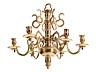 Detail images:  Außergewöhnlich kleiner barocker Kronleuchter