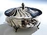 Detail images:  Silberne runde Deckelschüssel