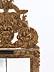 Detail images:  Seltener Barock-Spiegel mit üppiger Bekrönung